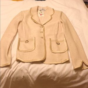 St. John collection knit blazer